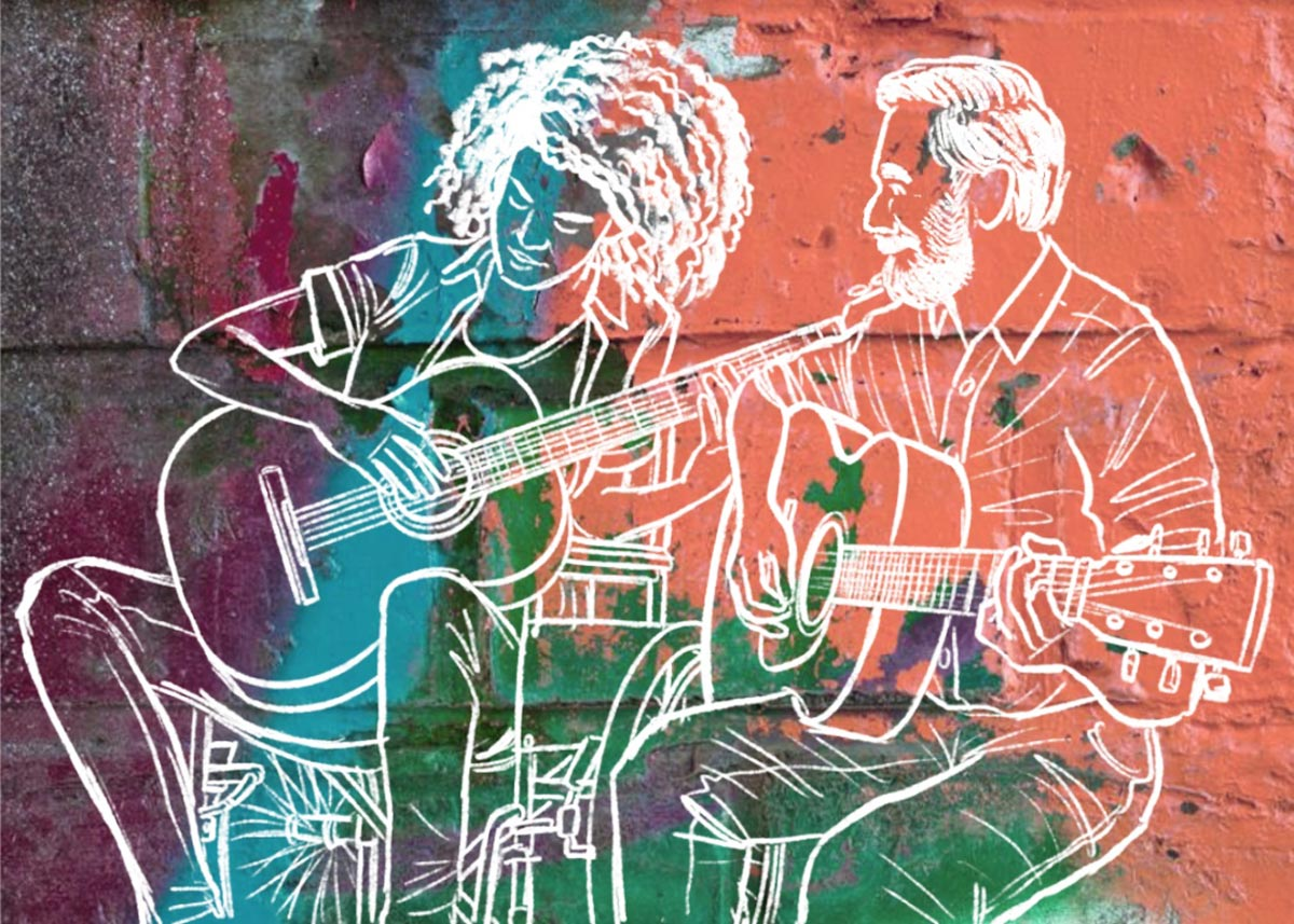 Music Therapy Illustration