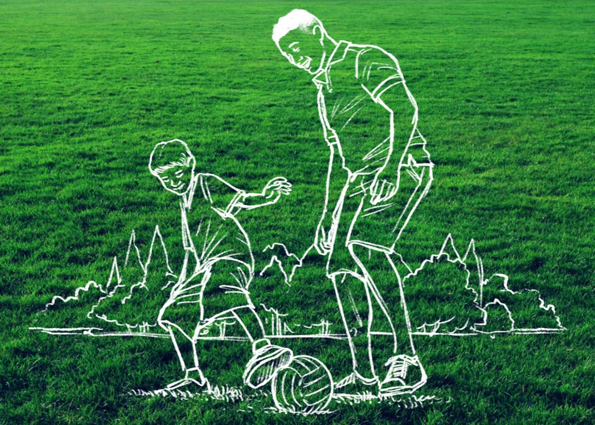 Sports Therapy Illustration