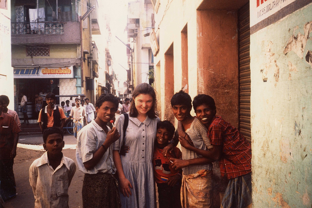 School trip to India